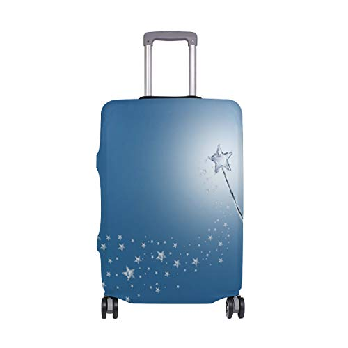 18/20/24/28/32 Inch Spandex Travel Luggage Cover - Magic Wand Stars Fashion DIY Creative Design Anti-Scratch Stretchy Travel Suitcase Protector Baggage Covers