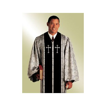 (Religious Supply Bishop Pulpit Robe; Men's Sizes)