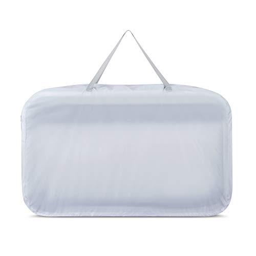 JOOVY Coo Portable Bassinet Playpen, White