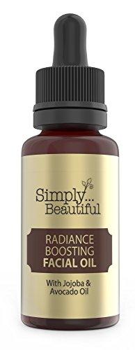 Gesichtsöl mit Vitamin E - bringt ölige, dehydrierte & trockene Haut wieder ins Gleichgewicht - enthält 100 % natürliche Öle, Weizenkeime, Jojoba- & Avocadoöl - 50 ml