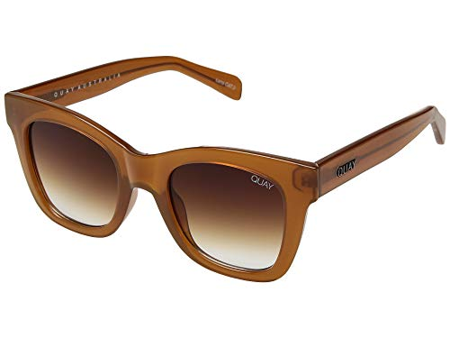 Quay Women's After Hours Sunglasses, Toffee/Brown Fade Lens, One Size