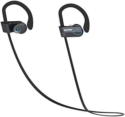 Bluetoothヘッドセット ブルートゥースヘッドフォン、ワイヤレスイヤーバッドIPX 7防水スポーツイヤホンw /マイクHDステレオ