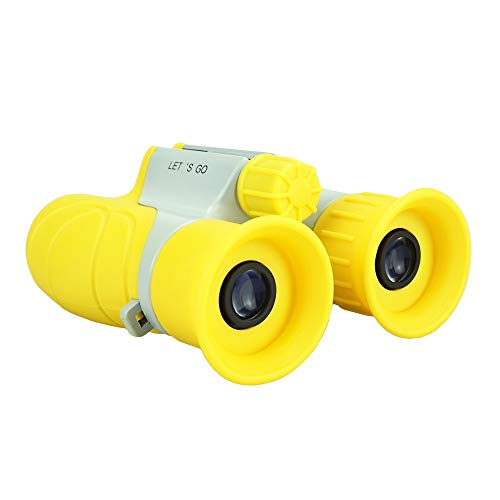 Gifts for 4-8 Boys, Our-Day Gifts for Teen Girls Bird Watching Binoculars for Kids Camping Hunting Gifts for 3-12 Year Old Boys Gifts 2018 Chritmas new gifts Yellow ODUSWY03