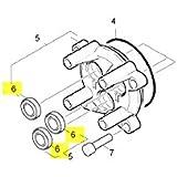 Joint Piston 12 X 20 X 4/6 Livre A Unite Référence : 63653930 Pour Nettoyeur Haute-pression Karcher