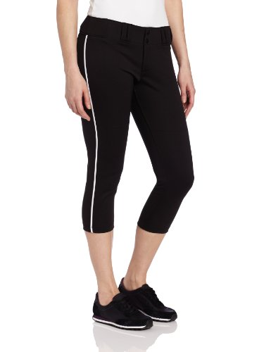 Easton Womens Pro Pipepant, Black/White, - Easton Pro Pant Womens