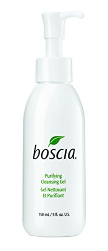 boscia Purifying Cleansing Gel - Daily Natural Purifying Deep Cleansing Gel Face Cleanser, 5 fl oz ()