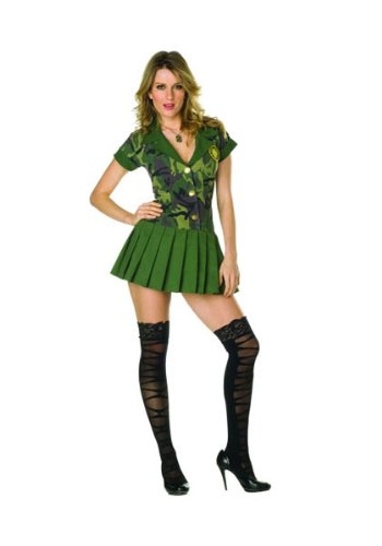 RG Costumes Plus-Size Camo Cutie, Green Camouflage, XX-Large (Camo Cutie Costumes)