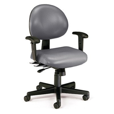 (OFM 241-VAM-AA-606 24 Hours Anti-Microbial/Anti-Bacterial Vinyl Task Chair with Arms)