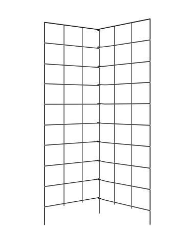 Gardener's Supply Company Two Panel Folding Trellis (Garden Trellis Fence)