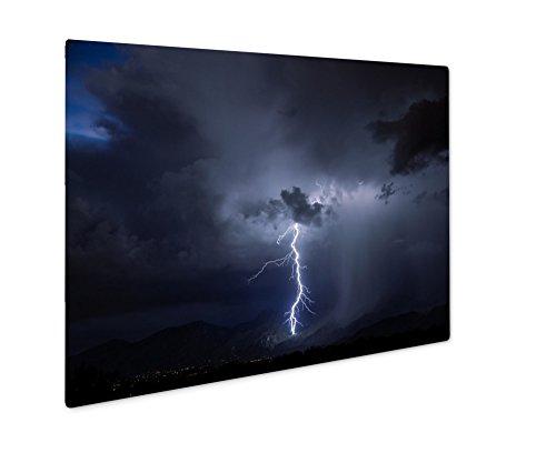 ashley-giclee-metal-panel-print-tucson-lightning-16x20