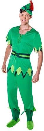 Disfraz de Peter Pan adulto: Amazon.es: Juguetes y juegos