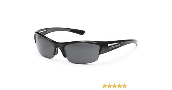 5922a02945bf3 Amazon.com  Suncloud Finish Line Sunglass (Gray Polar Lens