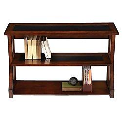 Glass Mahogany Bookcase - 4