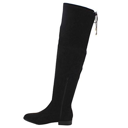 Yoki Damen Anora Fashion Boot Schwarz