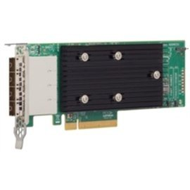 LSI Logic Controller Card 05-25704-00 9305-16e 16-Port External SAS 12Gb/s PCI-Express 3.0 Host Bus Adapter Single