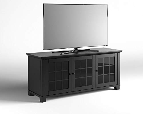 Salamander Designs SDAV1 Triple Model 6626 AV Basics Cabinet - Matte Black
