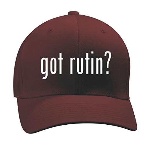got Rutin? - A Nice Men's Adult Baseball Hat Cap, Maroon, Small/Medium -