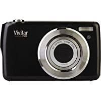Vivitar ViviCam F529 14.1 Megapixel Compact Camera - Black. 14.1MP DIGITAL CAMERA HIGH DEF 2.7IN PREVIEW SCREEN CAMERA. 2.7 LCD - 5x Optical Zoom - 4416 x 3312 Image - 1280 x 720 Video - AVI - PictBridge