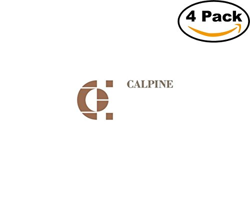 Calpine Logo 4 Stickers 4X4 Inches Car Bumper Window Sticker Decal