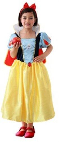 Rubies 3 883678 L - Disfraz de Blancanieves para niña (7 años)