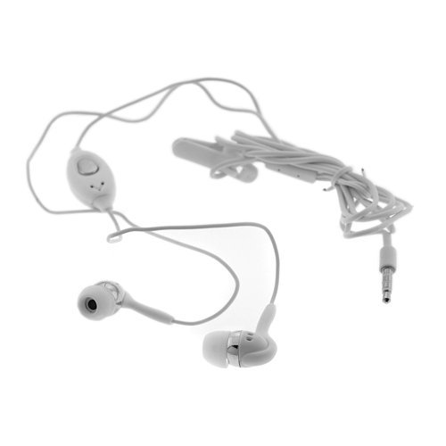 White - Premium Apple iPhone/iPod stereo hands-free Earphone
