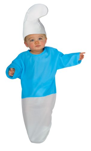 The Smurfs Bunting And Headpiece Smurf, Smurf Print, 0-9 Months Costume