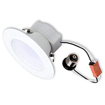 ge 30367 led10rs6 840e26p led recessed can retrofit kit with 5 6 inch recessed housing