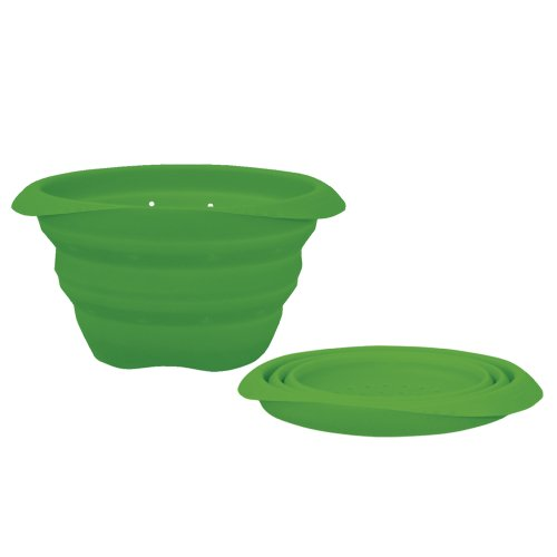 green sprouts Collapsible Silicone Strainer