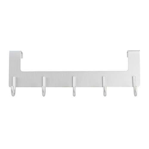Space aluminum hook/ no trace hook behind the door/ cloak-gig/Bathroom hook/Creative nail-free hook low-cost