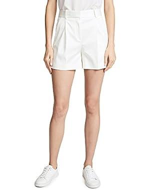 Women's Pleat Shorts