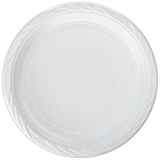 """Blue Sky 100 Count Disposable Plastic Plates, 10"""", White (B007PM4DHC) 