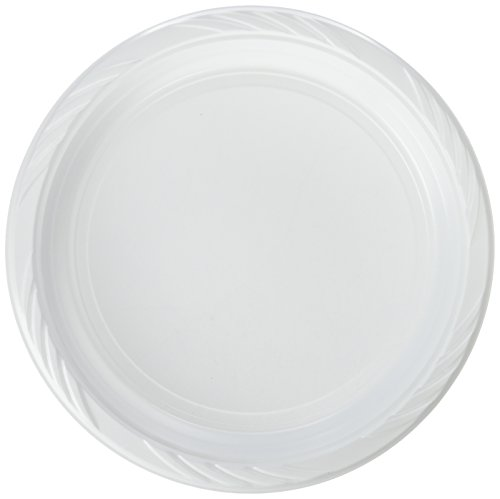 Blue Sky 100 Count Disposable Plastic Plates, 10