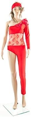 Carnaval - Disfraz de Lady Gaga para mujer, talla única, color ...