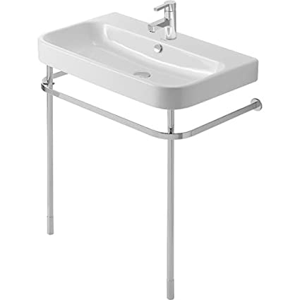 Duravit 00307800 Happy D 2 Metal Console Height Adjustable 2 For