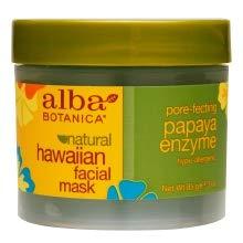 Alba Botanica: Natural Hawaiian Facial Mask Papaya Enzyme, 3 oz (11 pack)