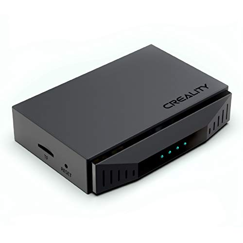 Creality WiFi Box, Wireless Control Intelligent Assistant for three-D Printers, with Cloud Slice/Print/Real-Time Monitor/Remote Control Function, Use with APP, Suitable for All Creality's Printer