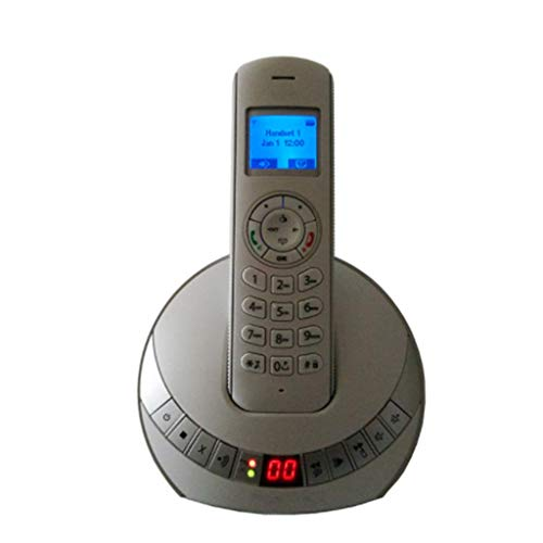 DIANH UK Telephone- New Caller ID Light Digital Cordless Phone Single Machine Home Office Phone Welcome (Color : -