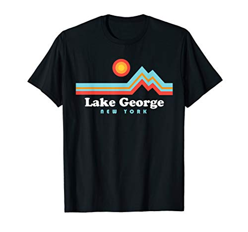 Lake George Shirt - Sunset Mountains Lake George ()