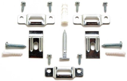 picture-frame-security-hardware-complete-sets-for-wood-or-metal-frames-up-to-60-wide-five-5-complete