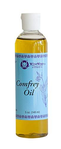 WiseWays Herbals Comfrey Oil Organic 5 Ounces
