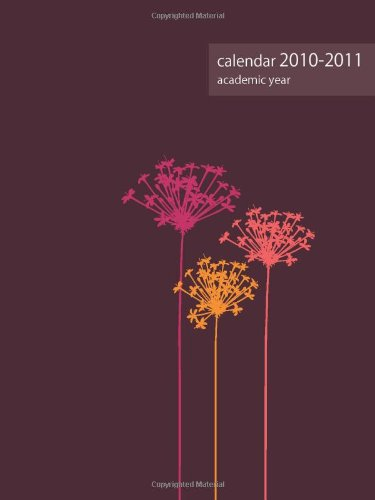 2010-2011 Academic POCKET Planner: pink dandelion ()
