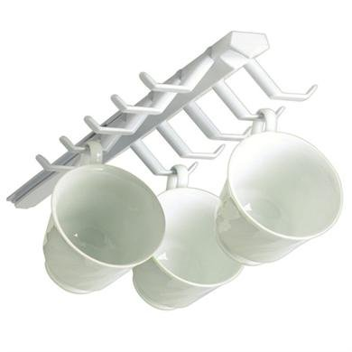Spectrum-Diversified-34100-White-Sliding-Cup-Rack-Pack-of-2