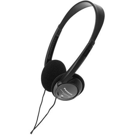 Panasonic Lightweight Headphones w/ XBS RP-HT21 (Panasonic Rp Ht21 Lightweight Headphones)