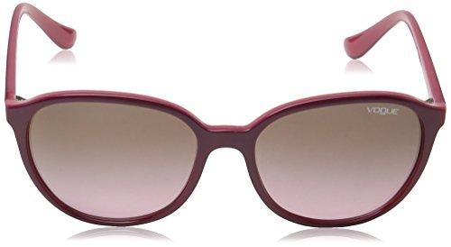Vogue Occhiali da sole Mod.2939SM Top purple/opal pink/Pink gradientbrown,  55: Amazon.it: Abbigliamento