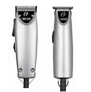 Oster Silver Combo Fast Feed and T finisher Limited Edition Made in the USA Package deal. (T Oster Trimmer Guards)