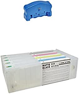 11 Cartuchos Recargables para Plotter Epson 7900 y 9900 de 700 ml + Chip Resetter: Amazon.es: Electrónica