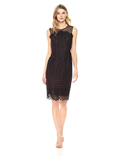 black lace dress london - 9