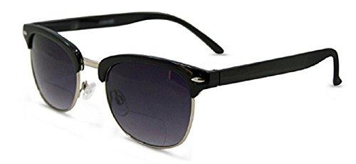 Semi Rimless Half Rim Metal Frame Wayfarer Full Sunreaders 1.50 - - Sunglasses Cheater