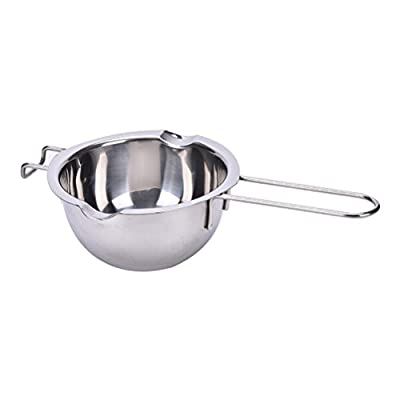 JiaUfmi Stainless Steel Double Boiler Chocolate Butter Melting Pot Universal Insert Baking Tools