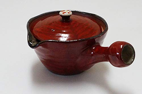 Imari Coffee Saucer - Imari Pottery Japanese Teapot Big Kyusu Deep Red Koume 03904001